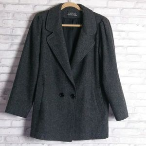 Havoc Gray Wool Blend Winter Coat Size 11/12